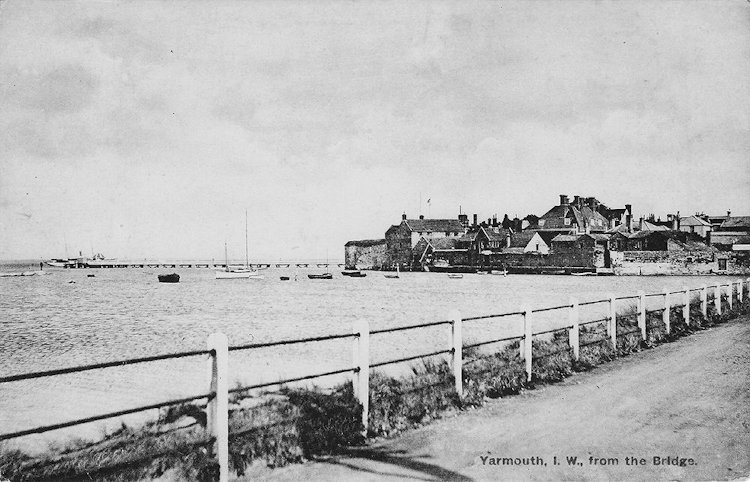 Yarmouth from the bridge