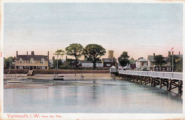 Yarmouth from the pier