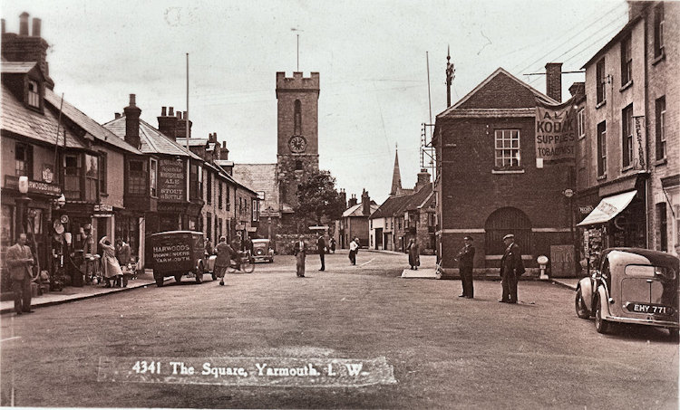 Yarmouth Square 1938