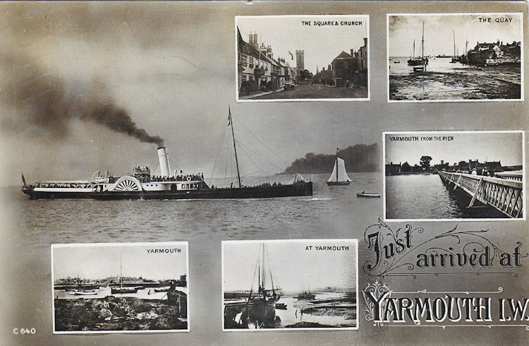 Multi view card of Yarmouth - Just Arrived