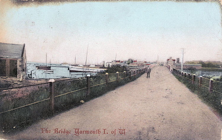 Yarmouth Bridge from the West